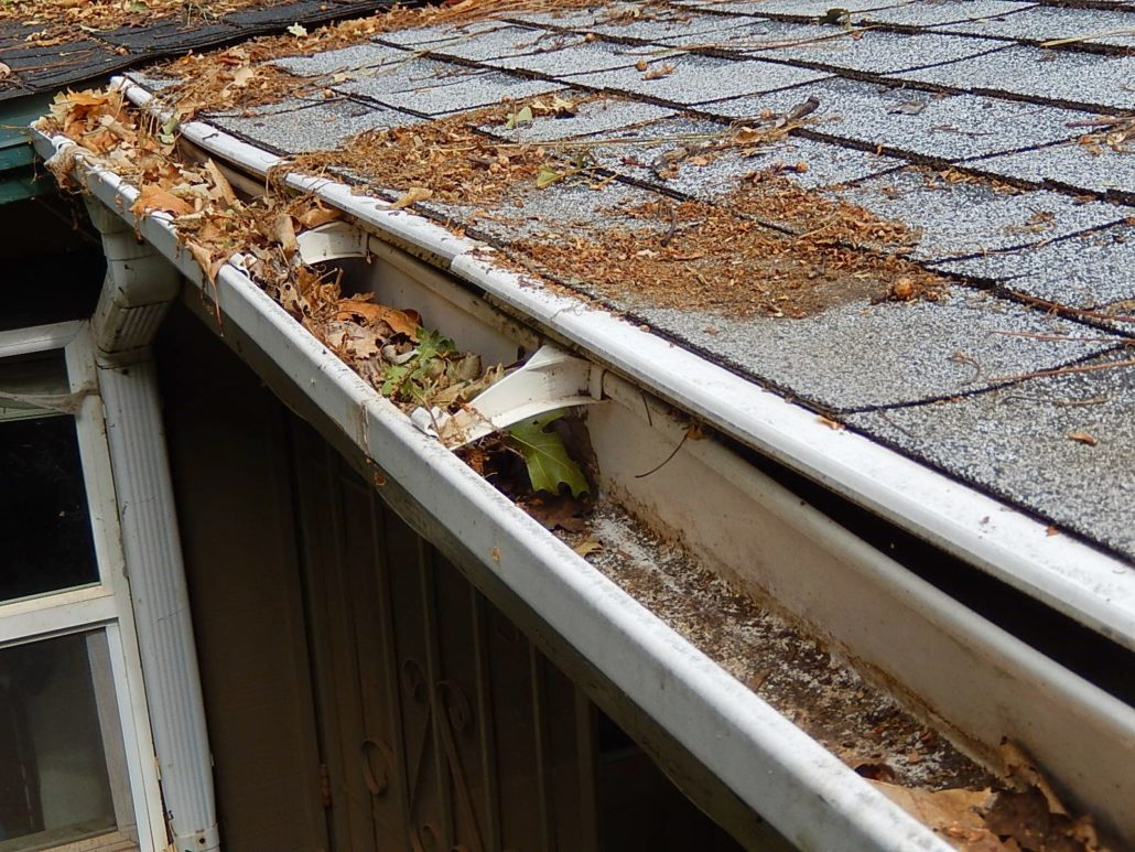 Preparation of these Gutters for fall and the Rainy Season